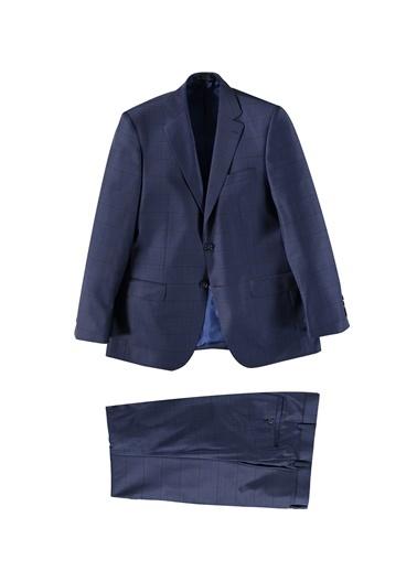 Kiğılı Takım Elbise Lacivert